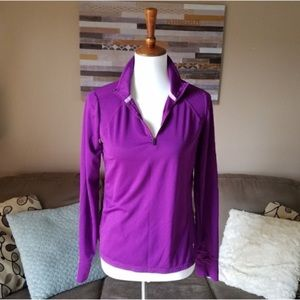 Xersion Purple Active Pullover