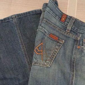 """Sz 26 """"A"""" pocket FLIP FLOP jeans"""