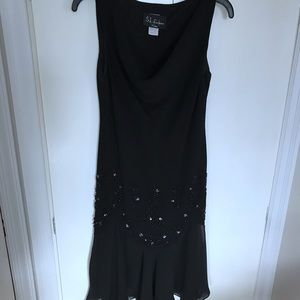 Dresses & Skirts - Black Dress with Front detail