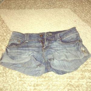 YMI Denim Short Shorts