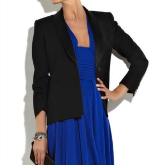de7ad5e4878a ⭐ 💜HP⭐️THEORY Varsha Laureate wool tuxedo jacket