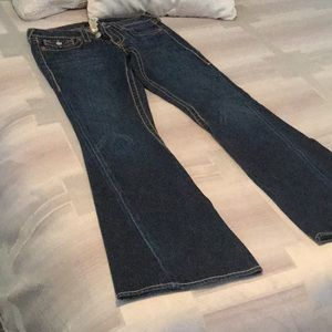 True Religion Jeans - Sz 28 Joey BigT   True religion  flare jeans