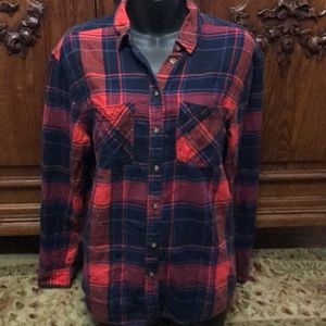 Urban outfitters BDG flannel plaid shirt