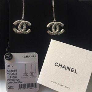Chanel Dangle Drop Earrings