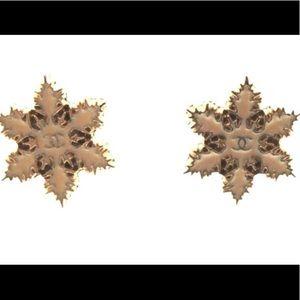 Chanel Snowflake earrings