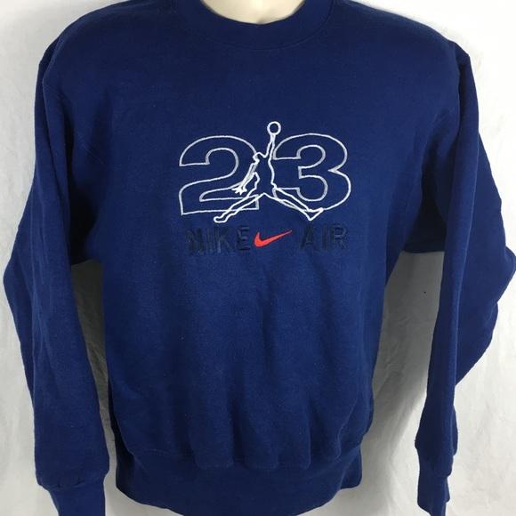 2c80dfbb243b Vintage Nike Air Jordan Jump Man  23 Mens Crewneck.  M 5a280cea99086a4213038ecf