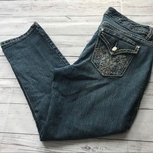 NINE WEST• ankle jeans 👖