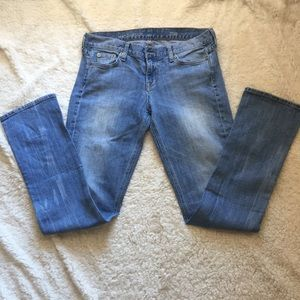 J. Crew Matchstick light wash jeans
