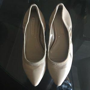 Cream colored BCBG Max Azria ballet flats Size 7