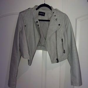 Members Only polyurethane jacket