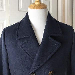 54b4eeb4aaceb Ted Baker Jackets   Coats -  575 TED BAKER Zachary navy wool peacoat medium
