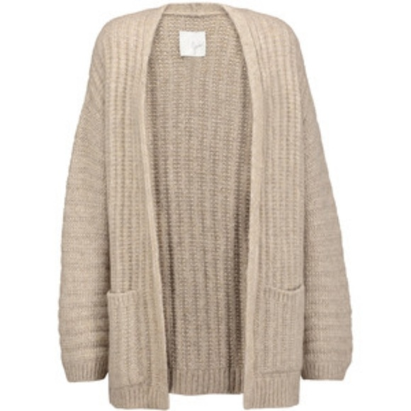 77% off Joie Sweaters - Joie Syden Chunky Cardigan Sweater S ...