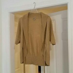 Glittery Holiday Cardigan Sweater
