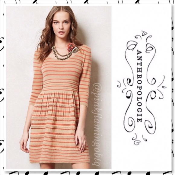 6db05172325 Anthropologie Dresses   Skirts - Anthro Knitted   Knotted Elodie Sweater  Dress