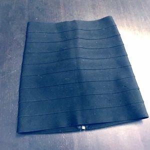 black pleasure doing business skirt