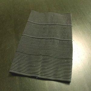 striped pleasure doing business skirt