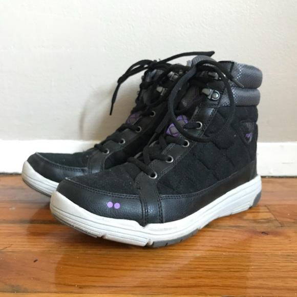 Ryka Aurora Black Waterproof Sneaker