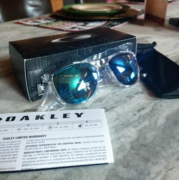 aa82794791f NIB Oakley Trillbe X Polarized Sunglasses