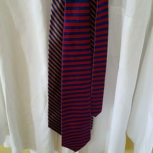 2 Brooks brothers striped silk ties
