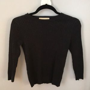 Michael Kors cable knit sweater size small