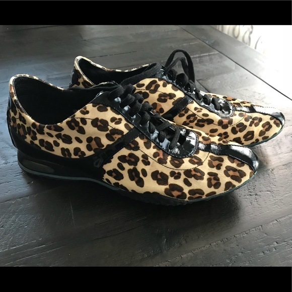 1a43591f Cole Haan leopard faux lace up shoes/snickers. M_5a2c1ef5fbf6f9bc160115a4