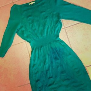 Gianni Bini Fitted Green Dress! Size M