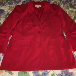 MK Red Blazer Jacket
