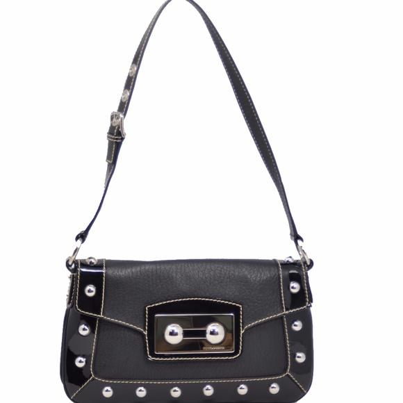 70b92338002 Dolce & Gabbana Bags | Sale Dolce Gabbana Black Studs Leather ...