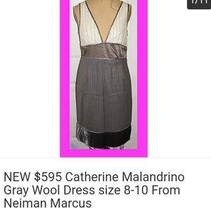 New Catherine Malandrino classy dress size 8