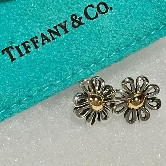b2d17c137 TIFFANY & Co. Paloma Picasso Silver / 18k Earrings.  M_5a282e7e522b45152e041a7a