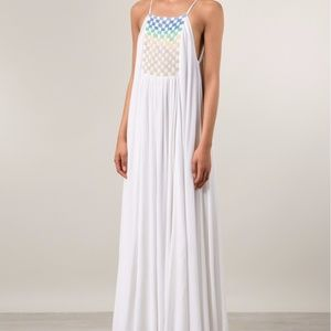 Mara Hoffman Trapeze Beaded Dress