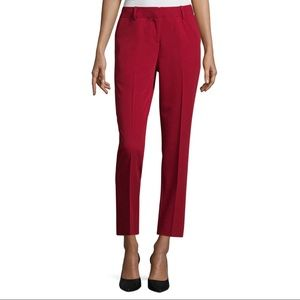 Red Worthington Modern Fit slacks