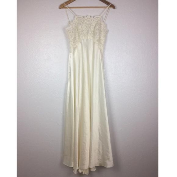 Victoria\'s Secret - Victorias Secret Beaded Slip Wedding Gown ...