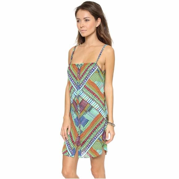 NWT Mara Hoffman Annika Halter Maxi Dress Size XS Swim Cover Up Beach