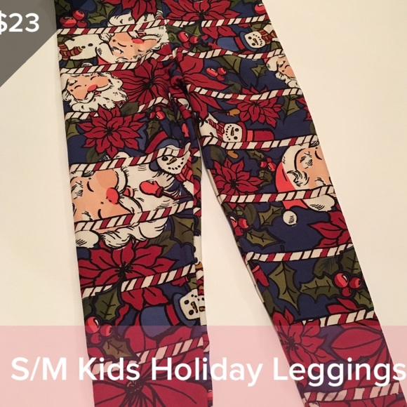 Lularoe Christmas Leggings.Kids S M Lularoe Christmas Leggings Boutique