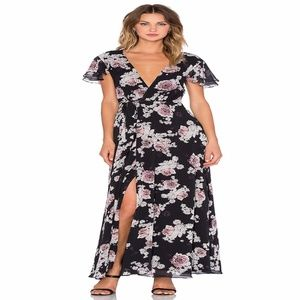 The Jetset Diaries Rosa Floral Maxi Dress