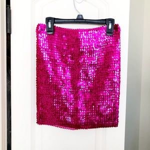 ASOS Sequined bodycon Mini Skirt