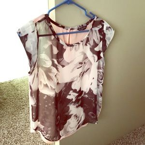 Sheer american eagle outfitters classy top