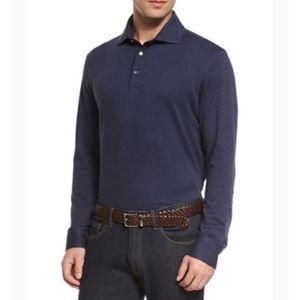 Ermenegildo Zegna long sleeves polo shirt