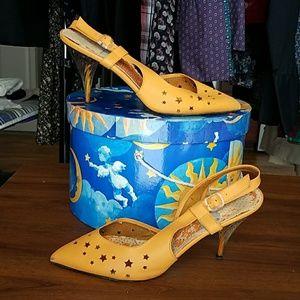 Yellow Star Heels
