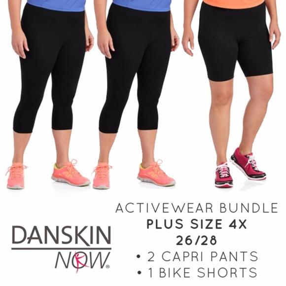 b027e6bb786d1 Danskin Now Pants - Danskin Now Plus Size 4X 3 Piece Activewear Bundle