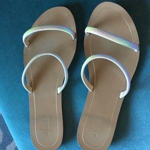 J. Crew strappy sandals
