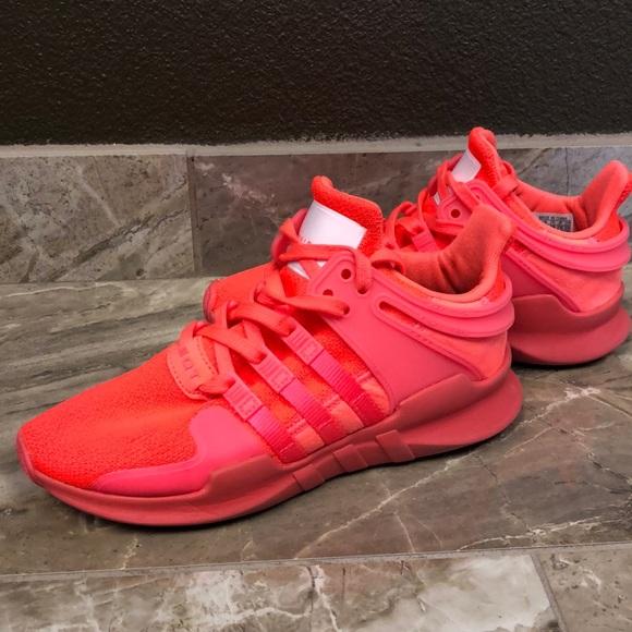 adidas Shoes   Neon Coral Adidas Eqt