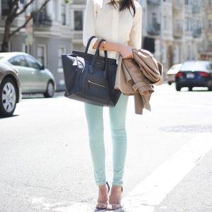 J Brand 811 mint jeans size 28