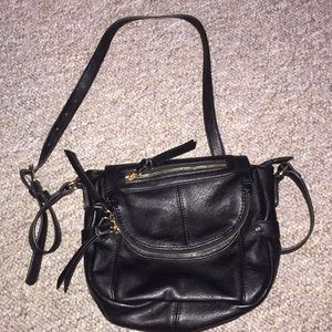 Melie Bianco cross body PU purse
