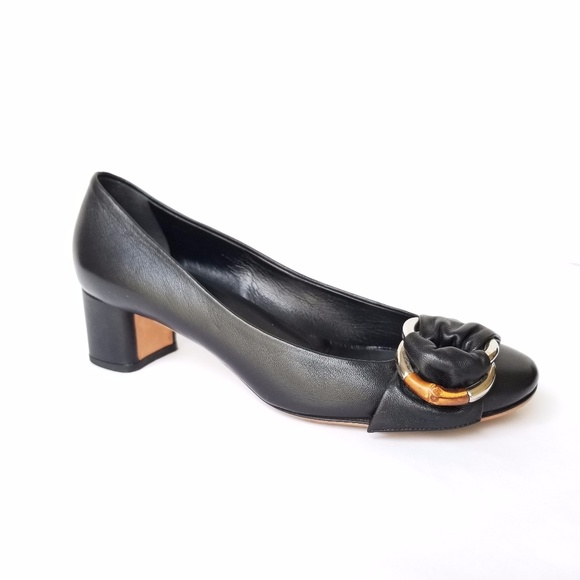 36518b17996 Gucci Shoes - Gucci Pumps Leather women size 9 us 39ue Bamboo