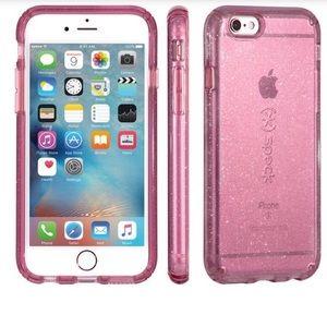 Accessories - Speck iPhone glitter case pink 6s/7/8