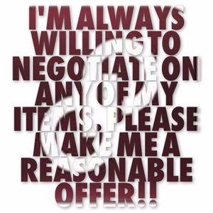 Make me an offer!!