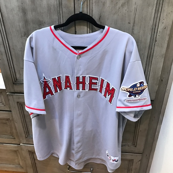 85a956e6125 Majestic Other - Anaheim Angels 2002 World Series Jersey 🔥🔥