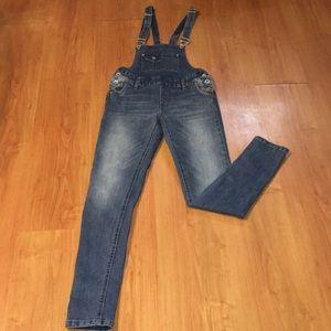 YMI denim overalls